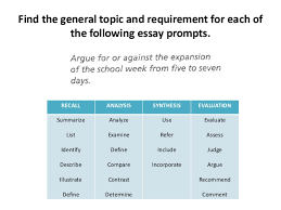 understanding essay prompts taking a position and asking research q   recommend comment 10 the general topic