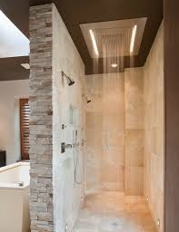 tile walk in showers without doors dumound doorless shower designs teach you how to go with
