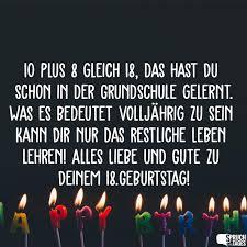 Sprüche Zum 18 Geburtstag