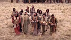 Resultado de imagen para imagen del evangelio juan 6,1-15