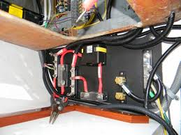 ericson 25, oystercatcher electrical, acr (automatic charging Automatic Charging Relay Wiring Diagram electrical, acr (automatic charging relay), part 1 installation of positive cables Blue Sea 7611 Wiring-Diagram