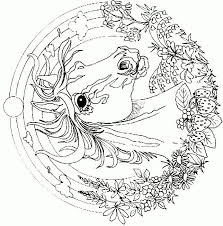 Merry Christmas Coloring Page Horse Cow Pig Free Pages For