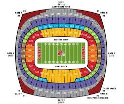 Nrg Concert Seating Chart Altel Stadium Seating Chart The History Of Everbank Stadium