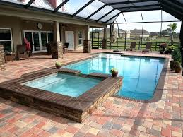 hot tub pool combo above ground hot tub pool combination round designs hot tub swimming pool combination