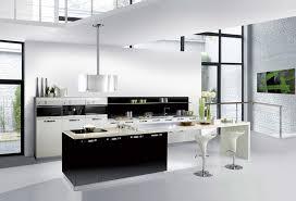 Model De Cuisine Noir Et Blanc Idée De Modèle De Cuisine