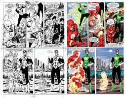 comic book lighting. Comic Book Coloring: Then And Now Lighting L