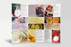 Specialty Produce Tri Fold Brochure Laura Penagos