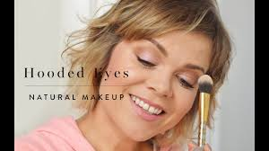 natural makeup for hooded eyes great for aging eyes