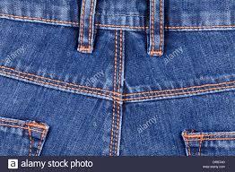 Denim Jeans Closeup Stitches Texture Stock Photo 66028608 Alamy