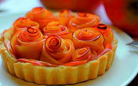 Resultado de imagen de tarta de manzana