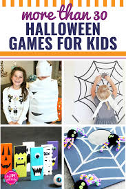 Young teen halloween game