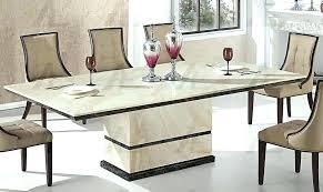 white marble kitchen table round