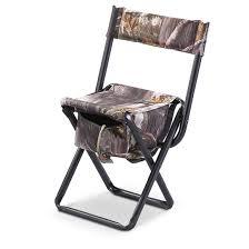 allen high back hunting blind chair