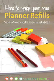 free office planner. You Can Make Your Own Planner Refills Using Free Templates And A Home Printer. Instead Office R