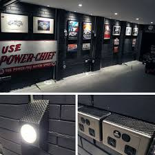 paint color for garage walls. black painted brick garage wall color ideas for guys paint walls