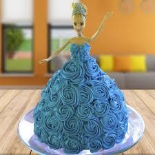 Chocolate Barbie Cake Winni
