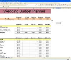 Wedding Planning Budget Calculator Excel Wedding Budget Spreadsheet Template Free For Guest List South