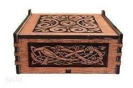 Decorative Wood Boxes With Lids Wooden Box eBay 8