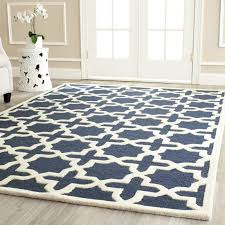 wool area rugs 10x14 safavieh handmade moroccan cambridge navy blue ivory wool rug 10