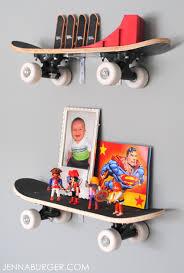 Skateboard Bedroom Skateboard Shelves Jenna Burger