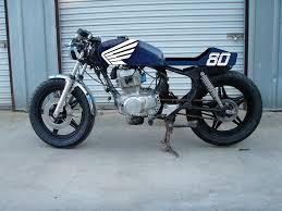 honda cm400t cafe racer blue cb400f tank 4into1 com vintage