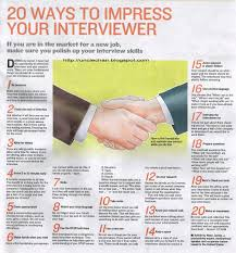 20 Ways To Impress Your Interviewer My Mother Coached Me Well On