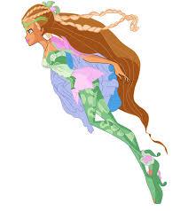 Ganhou junto com as winx após concluírem os testes e ativarem a fonte de sirenix (ep. Winx Flora Season 6 Transformation No Wings By Hikaritakaishi On Deviantart