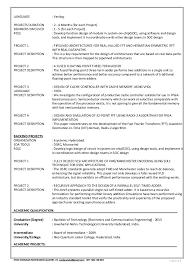Memory Design Engineer Sample Resume Fascinating ASIC Design Engineer VLSI Desing Engineer CV Resume Templates