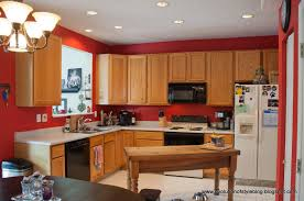 Painting Kitchen Wall Tiles Red And Black Kitchen Paint Ideas