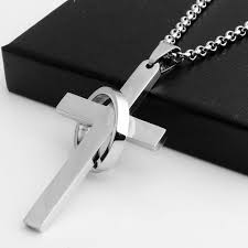 uni korean men 316 stainless steel pendant pendant necklace titanium personalized small jewelry whole stainless steel