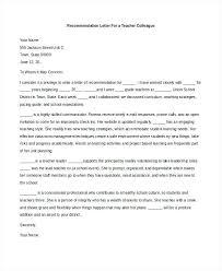 Letters Of Recommendation For Educators Example Letter Recommendation Teacher Copy Best S Of Teacher Re