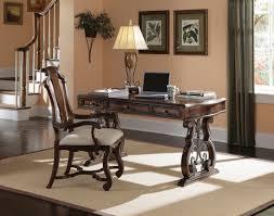 desk with coronado splat arm chair magnifier