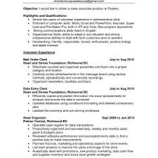 Sample Resume Customer Service Sales Associate New Retail Sales ...