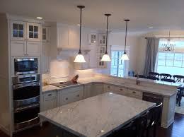Carrera Countertops beautiful carrera marble countertops feature grey granite kitchen 5817 by guidejewelry.us