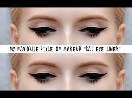 how to apply cat eyeliner makeup