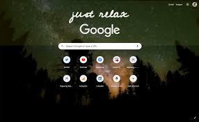 google chrome homepage background a gif