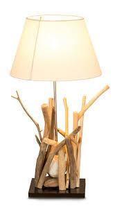 Lampe Treibholz Trendy Levandeo Lampe Aus Recyceltem Holz Holzlampe