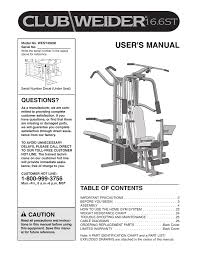 Cable Identification Chart Weider Club 16 6st User S Manual Manualzz Com