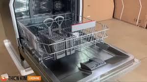 RIVIEW Máy rửa chén Bosch SMS63L08EA - YouTube