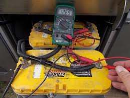 how to perform open voltage testing on your rv batteries testing the voltage on house batteries in a motorhome