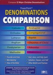 Denominations Comparison Powerpoint Cd Rom