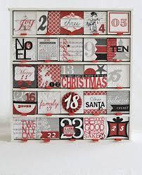 Calendar Countdown Days 25 Days Till Christmas Advent Calendar