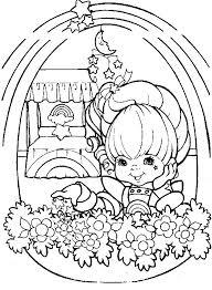 Small Picture 50 best Rainbow Brite Food images on Pinterest Coloring sheets