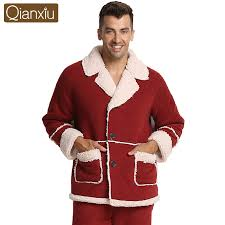 Aliexpress.com : Buy Qianxiu Christmas Pajama Sets For Men Turn ...