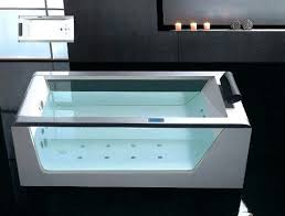 free standing jetted bathtub jets total 6 types of massage modes 4 intensity options unique small