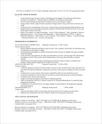 Sample Analyst Resume Sample Financial Analyst Resume 7 Examples In Word Pdf