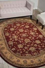 x oval rug 6 9