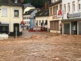 floods sweep Germany, western Europe