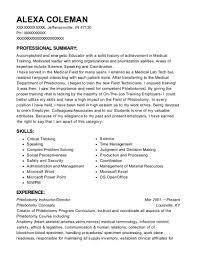 Aumt Phlebptpmy School Phlebotomy Instructor Resume Sample Fontana