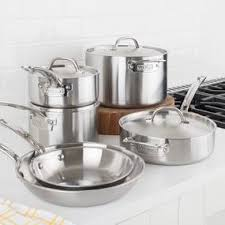 viking cookware set. Interesting Set Viking 5Ply Professional 10 Piece Cookware Set With 7